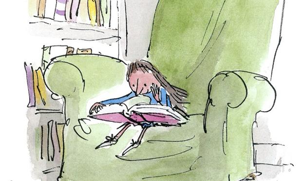 Quentin-Blake-Matilda-el-valor-de-los-libros-ilustrados