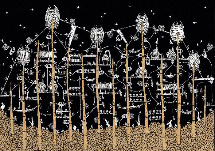 las ciudades invisibles zenobia karina puente