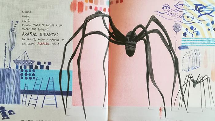 Louise Bourgeois-Nana-de-Tela-araña