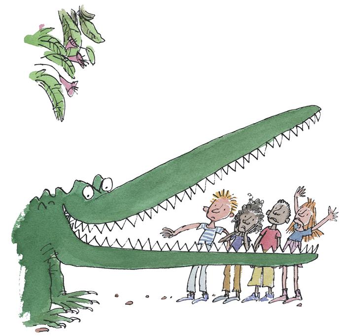 Quentin-Blake_Enormous Crocodile