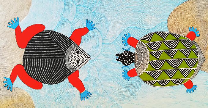 waterlife-rambaharos-rana-con-tortuga