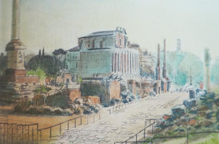 La levedad-Catherine Meurisse-Roma