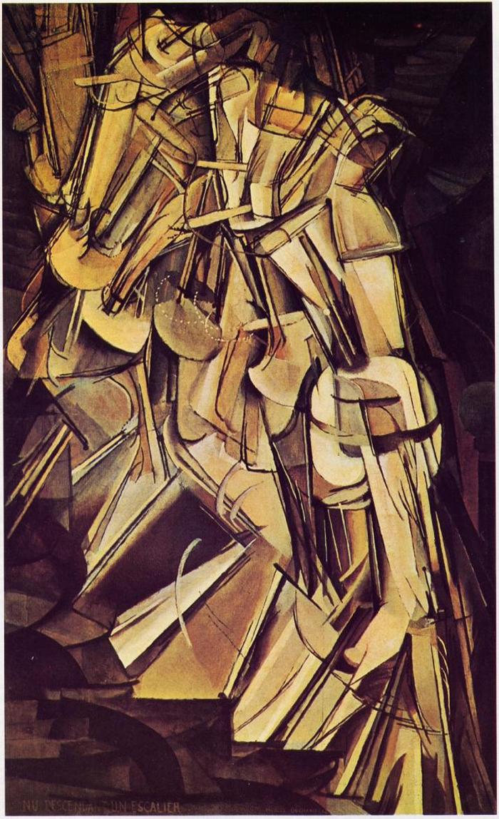 ritmo-DesnudoBajandoLaEscalera-Duchamp