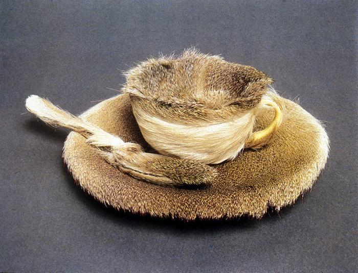 Oppenheim-fur tea cup
