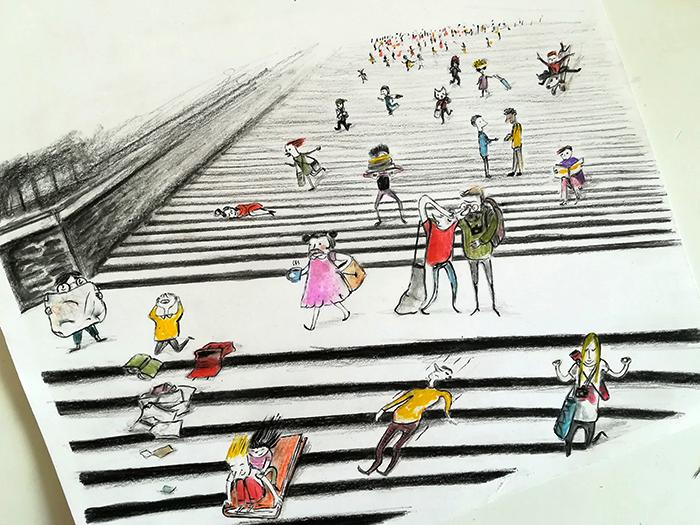 ninalaluna_Feria del libro infantil de Bolonia_libros_surviving bcbf