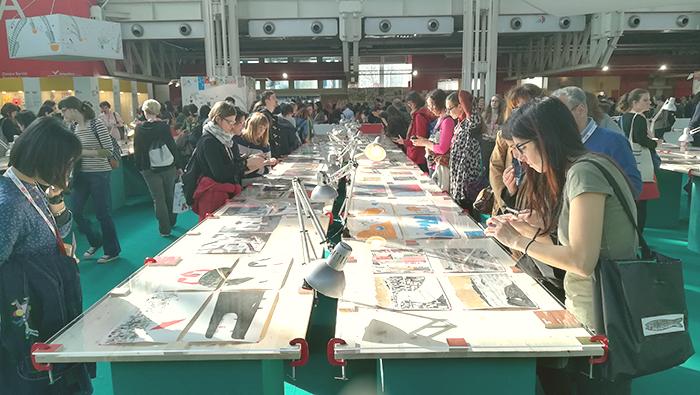 Feria del libro infantil de Bolonia_muestra ilustradores