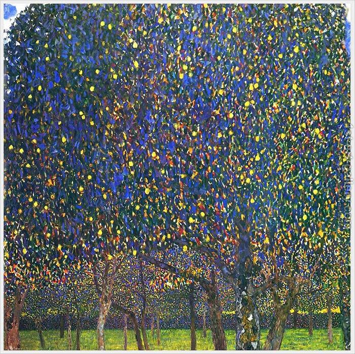Klimt_the pear tree_1800