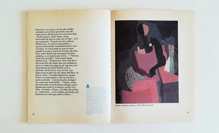 Diego Rivera-señora media luna