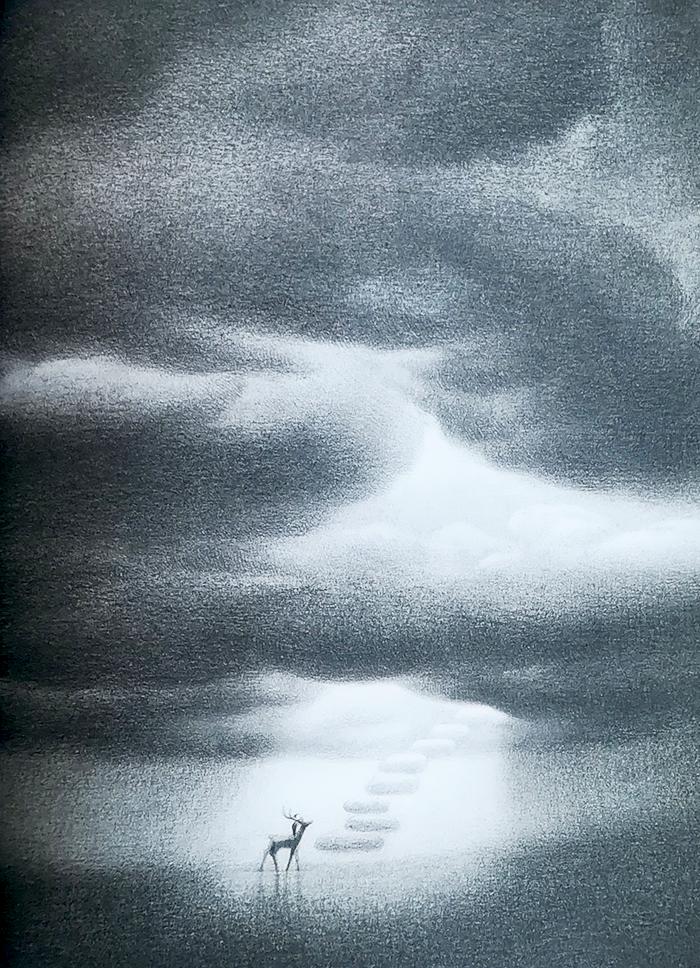 hija única-guojing-nubes