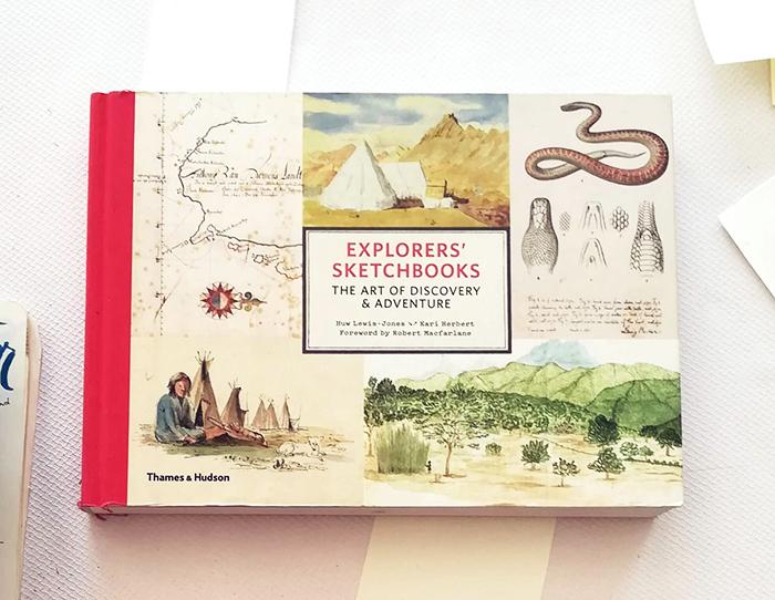 viajar-explorers sktechbook