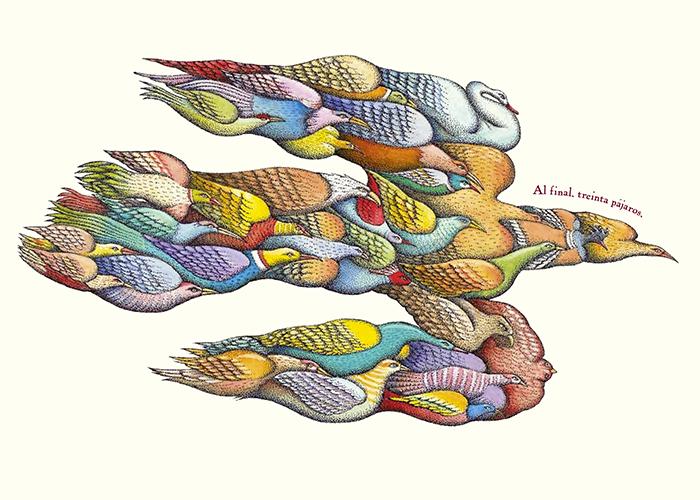 el coloquio de los pájaros-peter sís-todos los pájaros2