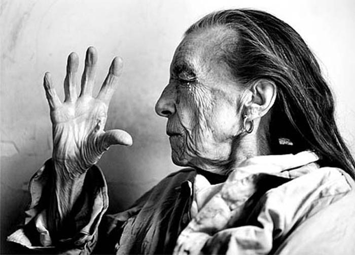 Louise Bourgeois portrait