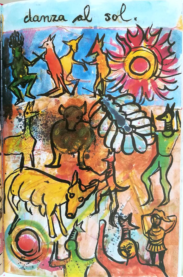 el diario de Frida-danza-sol