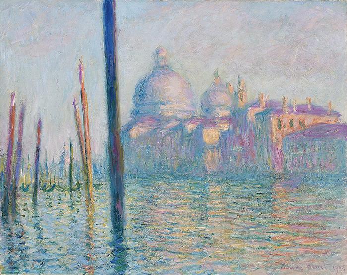 Claude Monet- Le Grand Canal