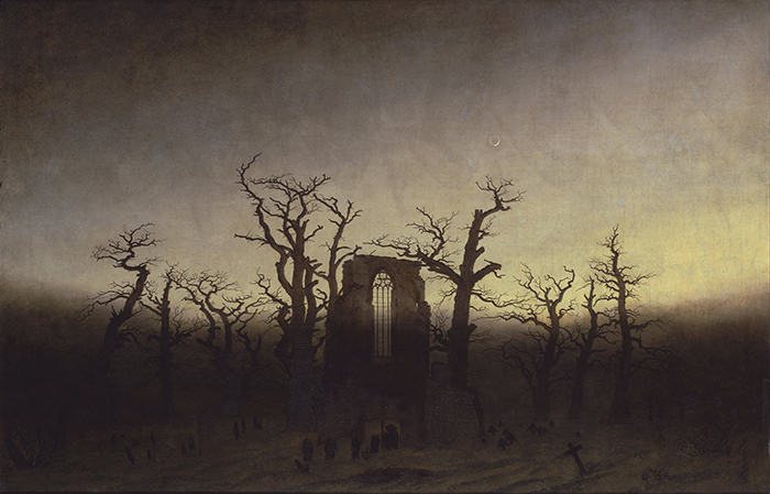 Friedrich_the abbey in the oakwood_1810