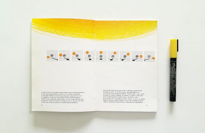 dibujar el sol-Bruno Munari-sombras