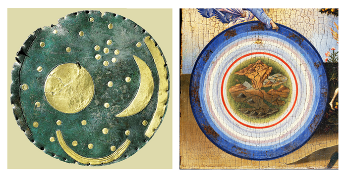 pintar el cielo-cielo circular-disco nebra_giovanni di paolo